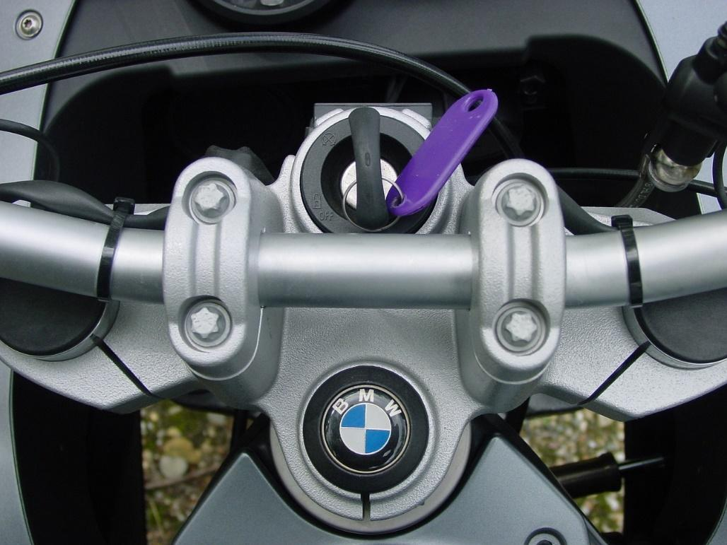 motorcycle key inspection