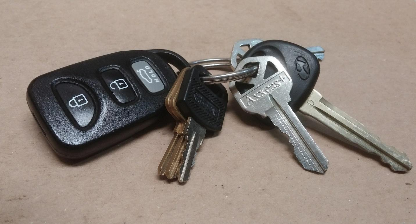 transponder and remote control key differences