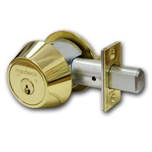 Medeco high-security double-deadbolt lock